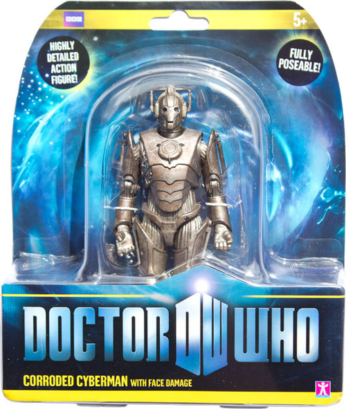 Doctor Who New Series - CORRODED CYBERMAN with Face Damage - Series 6 Action Figure - Character Options