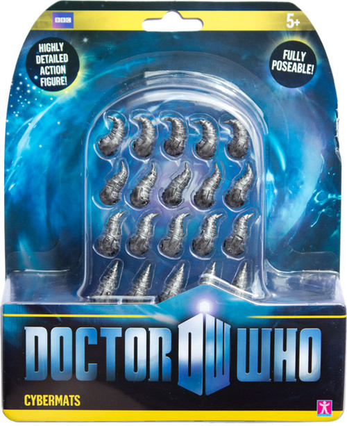 Doctor Who New Series - CYBERMATS (Set of 20) - Series 6 Action Figure - Character Options