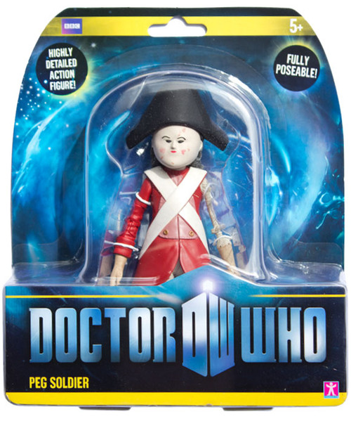 Doctor Who New Series - PEG SOLDIER - Series 6 Action Figure - Character Options
