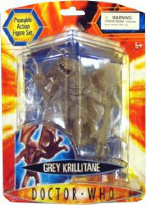Doctor Who New Series - KRILLITANE (GREY) - Series 2 Action Figure - Character Options