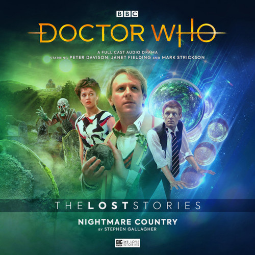 Doctor Who: The NIGHTMARE COUNTRY - The Lost Stories #5.1 - Big Finish Audio CD