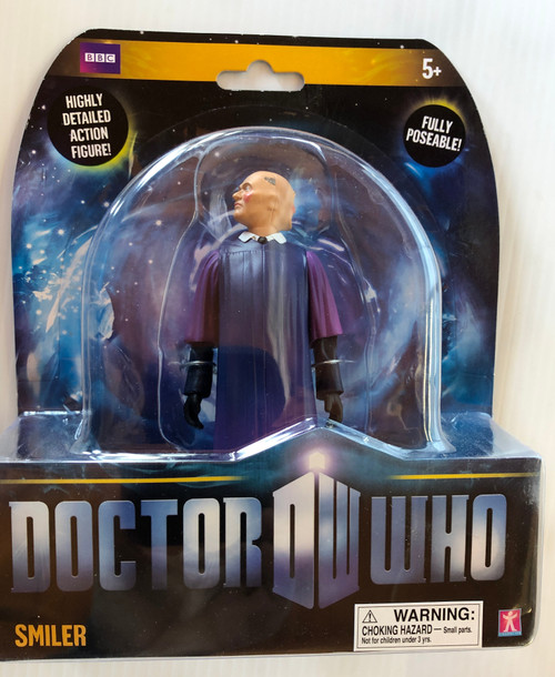 Doctor Who New Series - SMILER (Two Faced) - Series 5 Action Figure - Character Options