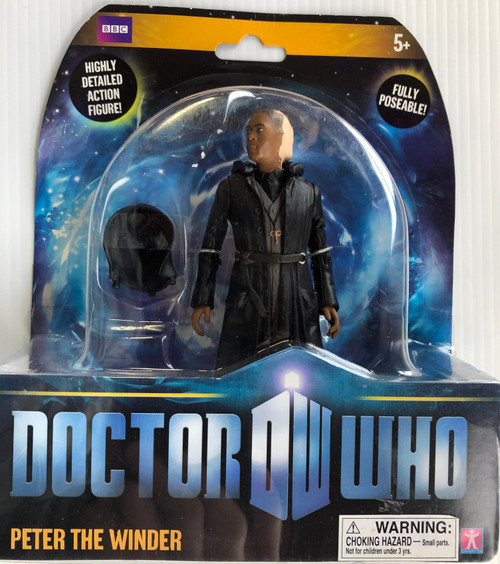 Doctor Who New Series - PETER THE WINDER (Reversible Head) - Series 5 Action Figure - Character Options