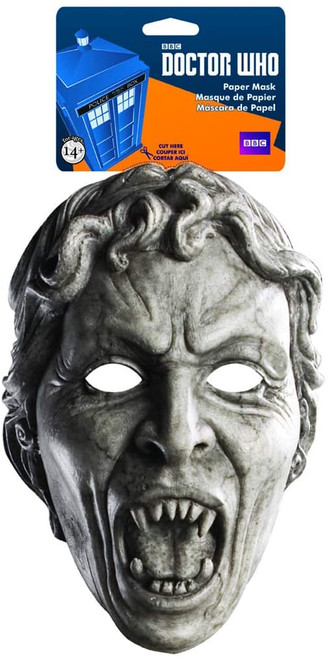 Doctor Who SCREEMING ANGEL - BBC Licensed  Paper Mask