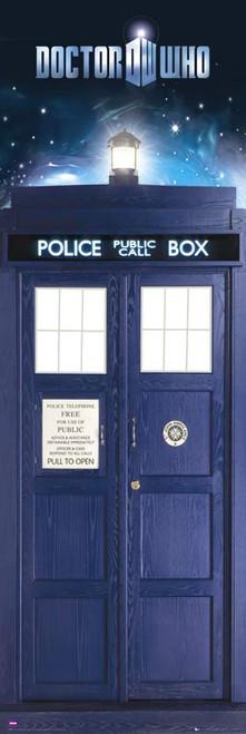"Doctor Who: TARDIS (11th Doctor - Matt Smith) - Large Door Poster - 62"" X 21"""