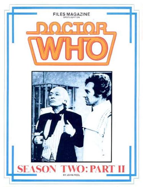 Files Magazine Spotlight on Doctor Who - SEASON 2 PART 2 (Hartnell)
