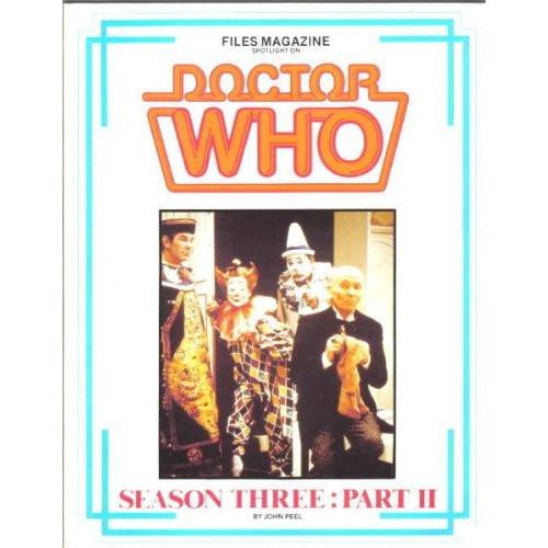 Files Magazine Spotlight on Doctor Who - SEASON 3 PART 2 (Hartnell)