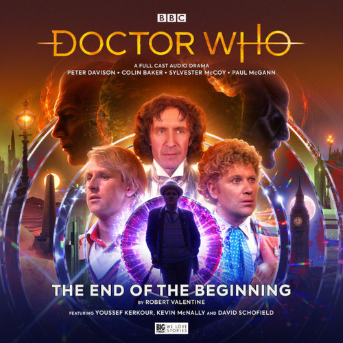 Doctor Who: The END OF THE BEGINNING - A Big Finish 5th/6th/7th/8th Doctor Audio CD #275