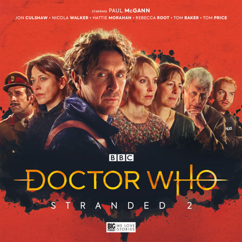 Doctor Who STRANDED #2 Eighth Doctor (Paul McGann) Audio Drama Boxed Set  from Big Finish
