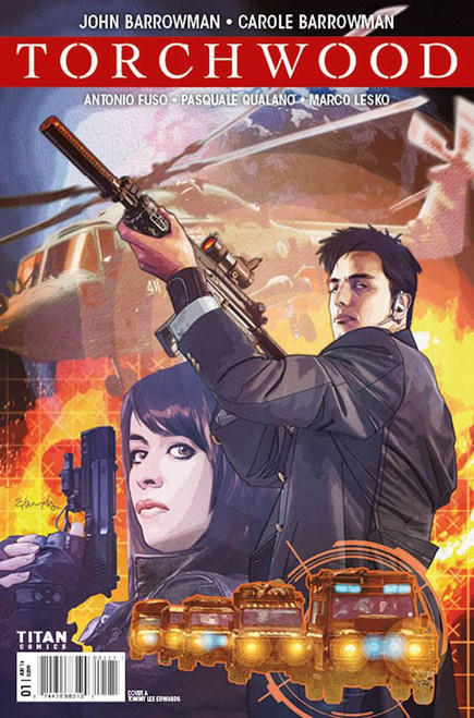 TORCHWOOD Comic Book - WORLD WITHOUT END Issue #1 (Cover A)