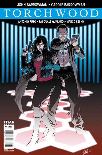TORCHWOOD Comic Book - WORLD WITHOUT END Issue #1 (Cover C)