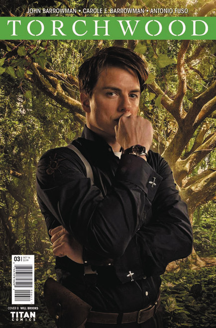 TORCHWOOD Comic Book - WORLD WITHOUT END Issue #3 (Cover B)
