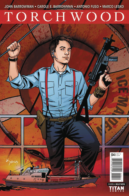 TORCHWOOD Comic Book - WORLD WITHOUT END Issue #4 (Cover A)