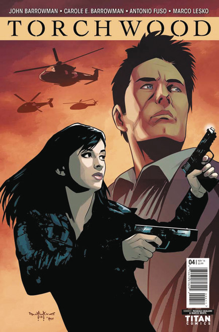 TORCHWOOD Comic Book - WORLD WITHOUT END Issue #4 (Cover C)