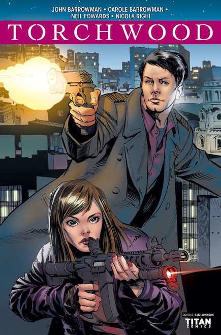 TORCHWOOD Comic Book - STATION ZERO Issue #1 (Cover D)