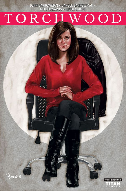 TORCHWOOD Comic Book - STATION ZERO Issue #1 (Cover E)