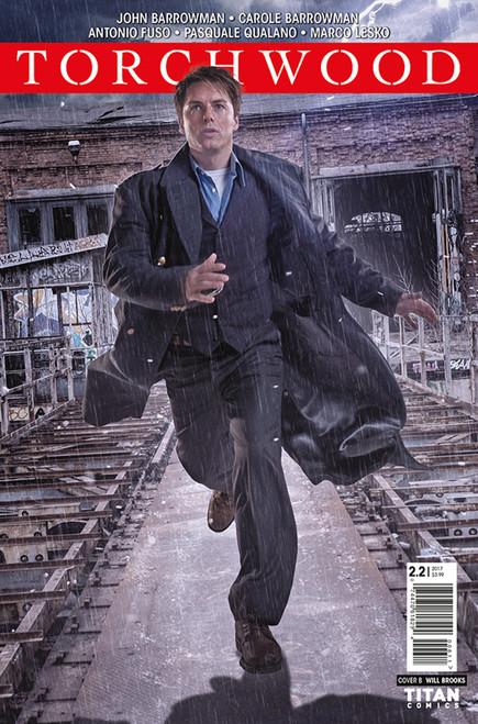 TORCHWOOD Comic Book - STATION ZERO Issue #2 (Cover B)