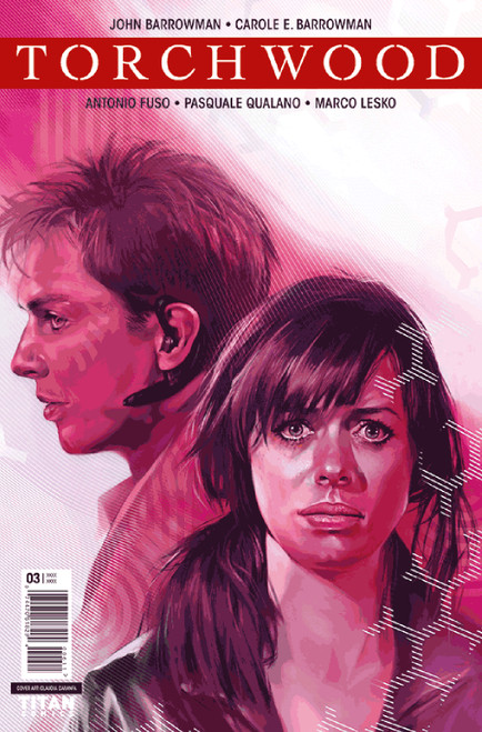 TORCHWOOD Comic Book - STATION ZERO Issue #3 (Cover A)