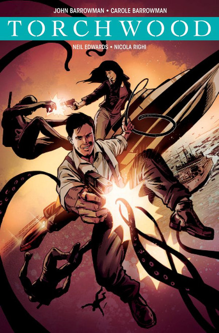 TORCHWOOD Comic Book - STATION ZERO Issue #4 (Cover C)