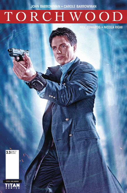 TORCHWOOD Comic Book - THE CULLING Issue #3 (Cover B)