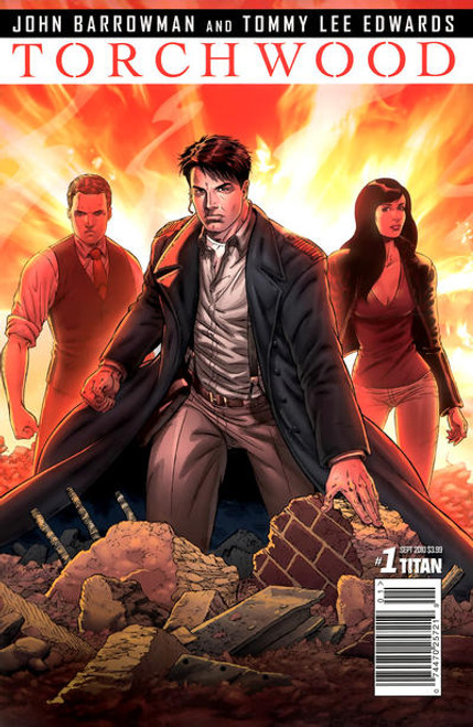 TORCHWOOD Comic Book - 2010 Mini Series Issue #1 of 6 (Cover A)