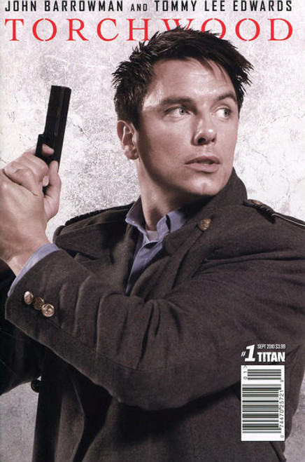TORCHWOOD Comic Book - 2010 Mini Series Issue #1 of 6 (Cover B) John Barrowman Photo Cover