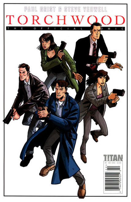 TORCHWOOD Comic Book - 2010 Mini Series Issue #2 of 6 (Cover A)