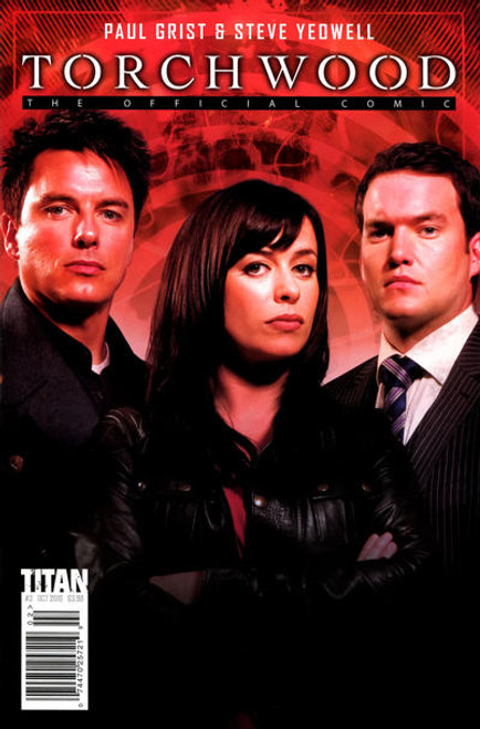 TORCHWOOD Comic Book - 2010 Mini Series Issue #2 of 6 (Cover B) Photo Cover