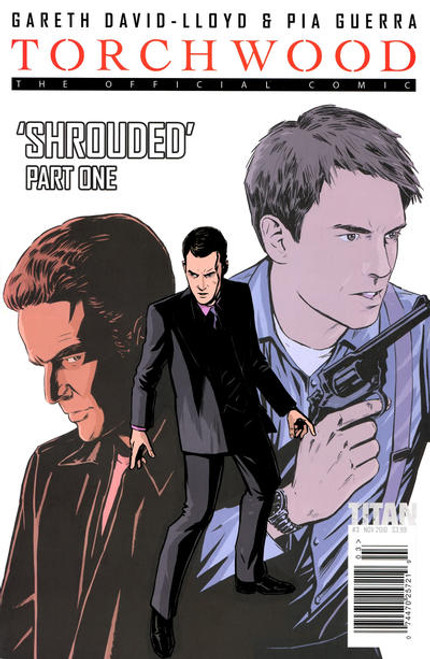 TORCHWOOD Comic Book - 2010 Mini Series Issue #3 of 6 (Cover A)