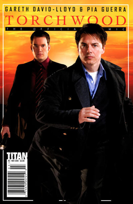 TORCHWOOD Comic Book - 2010 Mini Series Issue #3 of 6 (Cover B) Photo Cover