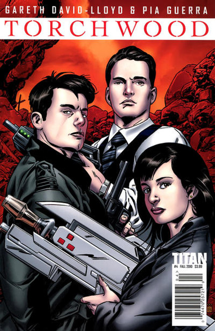 TORCHWOOD Comic Book - 2010 Mini Series Issue #4 of 6 (Cover A)