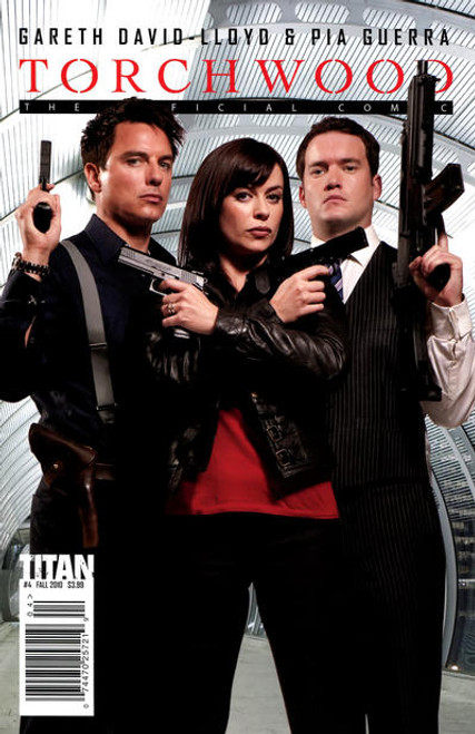 TORCHWOOD Comic Book - 2010 Mini Series Issue #4 of 6 (Cover B) Photo Cover