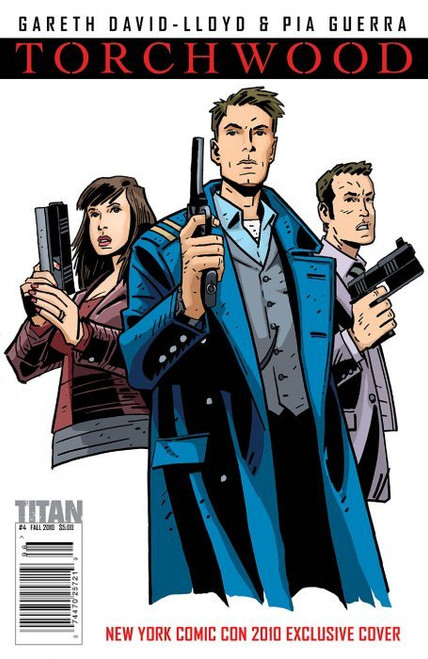 TORCHWOOD Comic Book - 2010 Mini Series Issue #4 of 6 (Cover C) NYCC Exclusive Cover