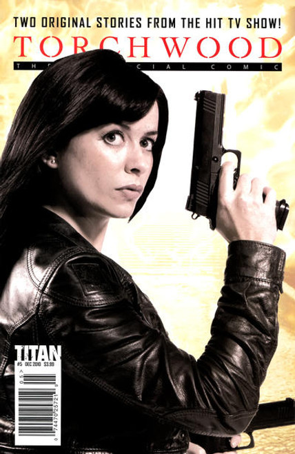 TORCHWOOD Comic Book - 2010 Mini Series Issue #5 of 6 (Cover B)  Eve Myles Photo Cover