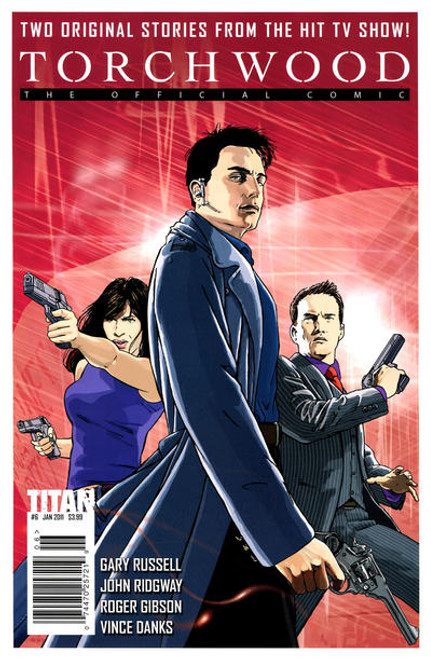 TORCHWOOD Comic Book - 2010 Mini Series Issue #6 of 6 (Cover A)