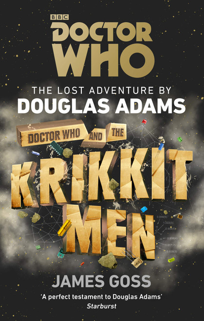 Doctor Who and the Krikkitmen - The Lost Adventures by Douglas Adams (Softcover Book)