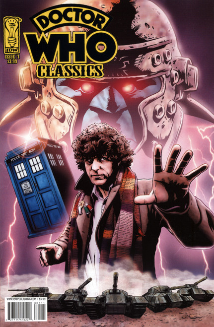 Doctor Who Comic Classics Series 1 Volume #1 of 10 (Regular Cover)