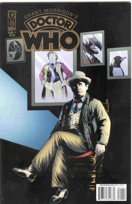 Grant Morrison's Doctor Who Comic Series #1 of 2 (Regular Cover)