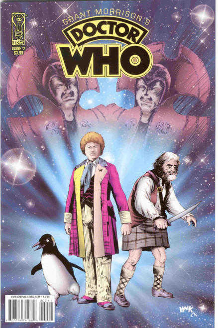 Grant Morrison's Doctor Who Comic Series #2 of 2 (Regular Cover)