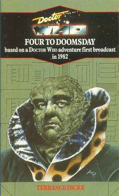 Doctor Who Classic Series Novelization - FOUR TO DOOMSDAY - Blue Spine TARGET Paperback Book