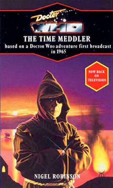 Doctor Who Classic Series Novelization - THE TIME MEDDLER - Blue Spine TARGET Paperback Book