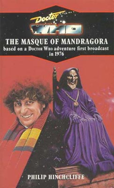 Doctor Who Classic Series Novelization - MASQUE OF MANDRAGORA - Blue Spine TARGET Paperback Book