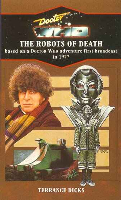 Doctor Who Classic Series Novelization - ROBOTS OF DEATH - Blue Spine TARGET Paperback Book