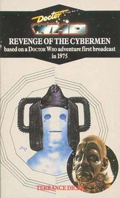 Doctor Who Classic Series Novelization - REVENGE OF THE CYBERMEN - Blue Spine TARGET Paperback Book