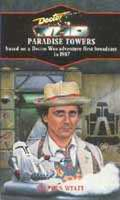 Doctor Who Classic Series Novelization - PARADISE TOWERS  - Blue Spine TARGET Paperback Book