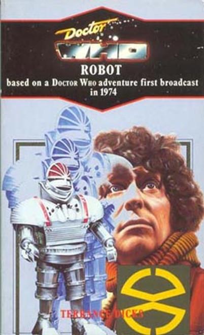 Doctor Who Classic Series Novelization - ROBOT - Blue Spine TARGET Paperback Book