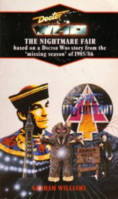 Doctor Who Classic Series Novelization - NIGHTMARE FAIR - Blue Spine TARGET Paperback Book