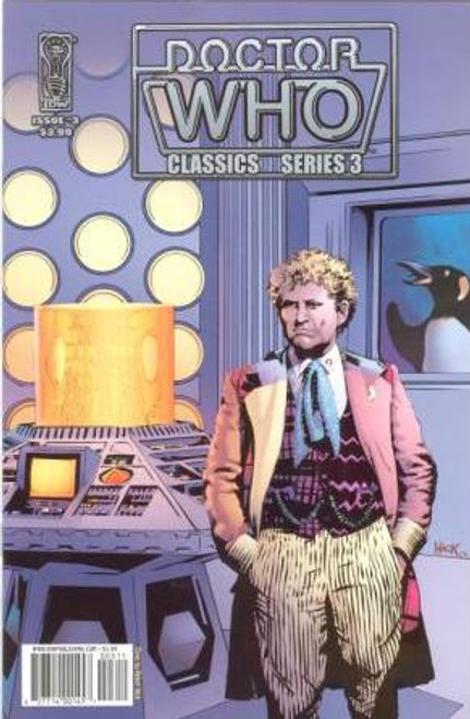 Doctor Who Comic Classics Series 3 Issue #3 of 6 (6th Doctor Stories)