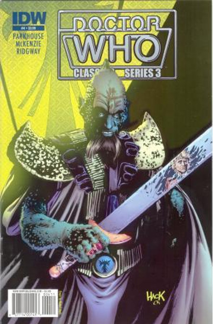 Doctor Who Comic Classics Series 3 Issue #4 of 6 (6th Doctor Stories)
