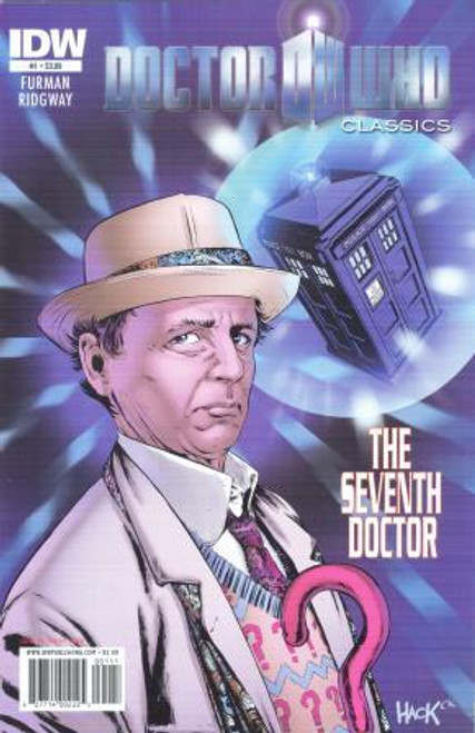 Doctor Who Comic Classics 7th Doctor Stories - Issue #1 of 5
